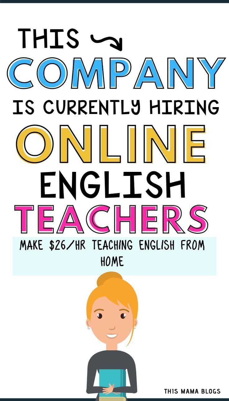 How To Earn Up To 26 Per Hour Teaching English Online Teaching English Online Online English Teacher Teaching English