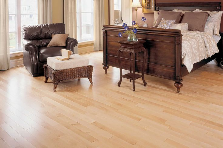 Yellow birch select better natural collection by for Mirage wood floors