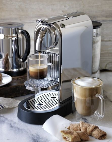 At home espresso maker? Yes, please!