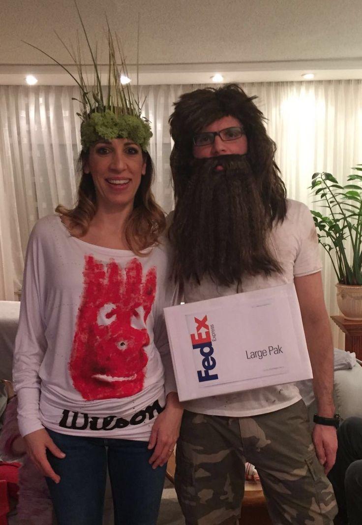 castaway couple costume wilson Funny couple halloween