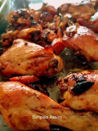 Coxas de frango à camponesa - simples e deliciosas - Simples Assim