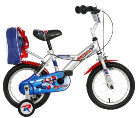 "Apollo Rocketman Boys Bike 14"" #Halfords"