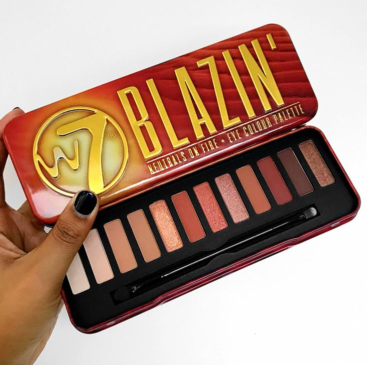 I have just seen a post on Facebook talking about the release of the new W7 'Blazin' palette which looks extremely similar in shade range to the Urban Decay 'Naked Heat' palette, almost identical i…