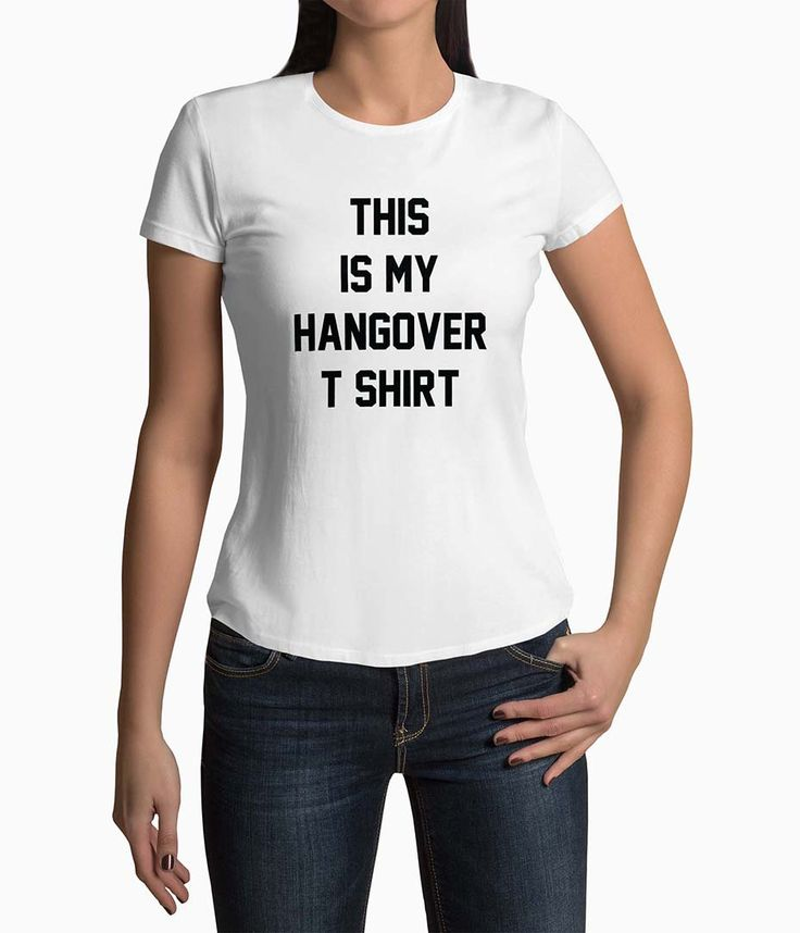 Tricou Femei Personalizat This Is My Hangover T-Shirt