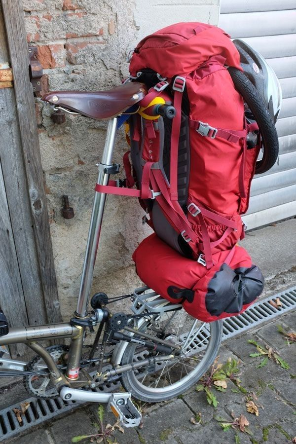 Pin By Colin Sheringham On Brompton Bike Touring With Images