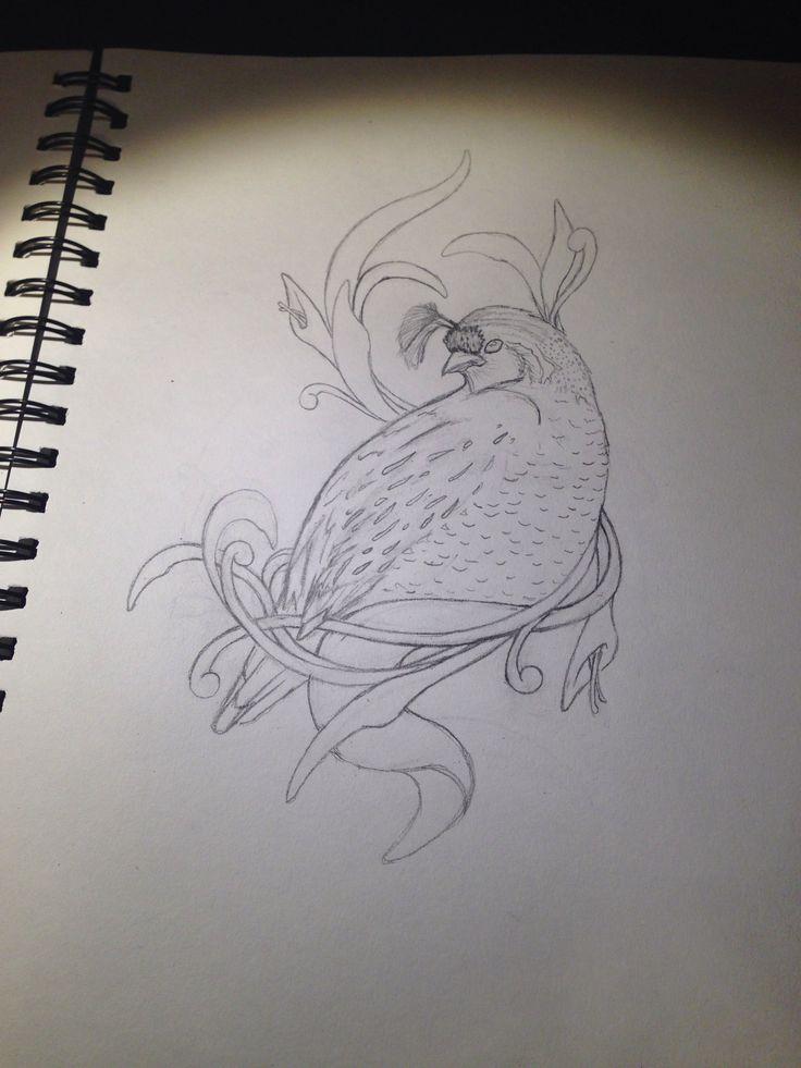 quail w/ tribal