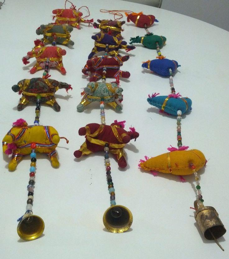 elefantes de colores colgante - Google Search
