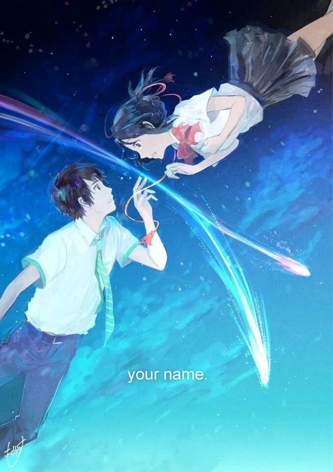 Your Name Kimi No Na Wa Kimi No Na Kimi No Na Wa Your Name Anime