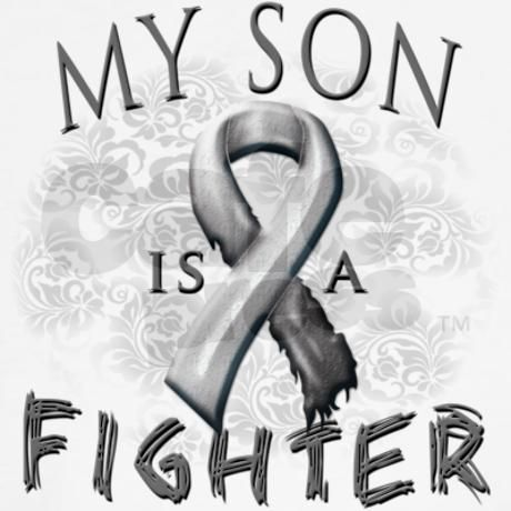 My Son Is A Fighter Tee on CafePress.com