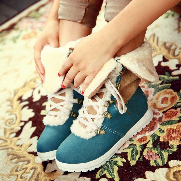Cheap 2014 mujeres Martin botas de invierno botas planas mujeres de zapatos botas moda casual caliente mujer botas de nieve envío gratis, Compro Calidad Planos directamente de los surtidores de China:     Tenga en cuenta:     Por favor consulte la tabla de medidas cuidadosamente antes de comprarlo.    Si usted todavía n