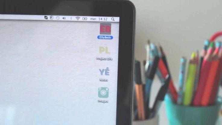 MAC : Organiser les fichiers numériques et modifier les icônes de dossier