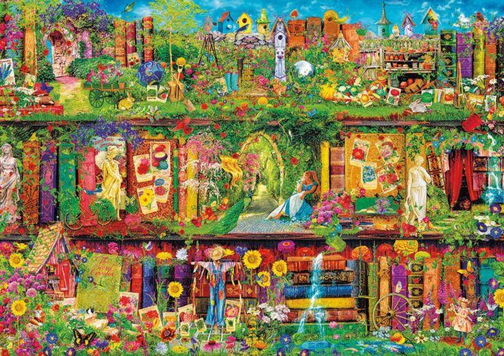 EDUCA Puzzle Zahradní polička 1500 dílků