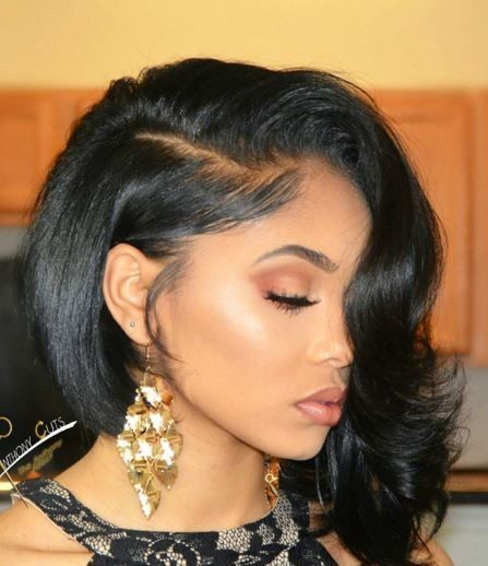Hairstyles For Straight Relaxed Hair : About relaxed hairstyles on healthy hair