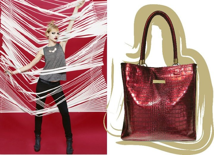 Patent Ruby Red