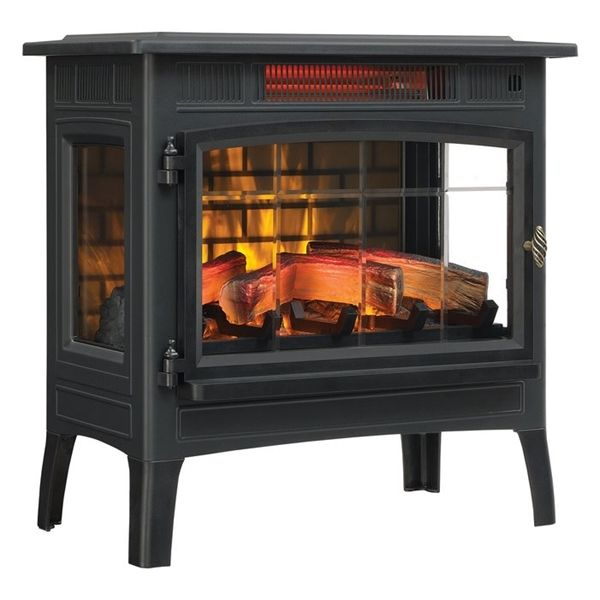 Duraflame 24 In Electric Stove Lowe S Canada Stove Fireplace Electric Fireplace Heater Freestanding Stove