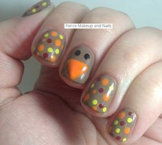 Top 17 Famous Fall & Thanksgiving Nail Design – New Fashion Manicure Blog Project - Way To Be Happy (9)