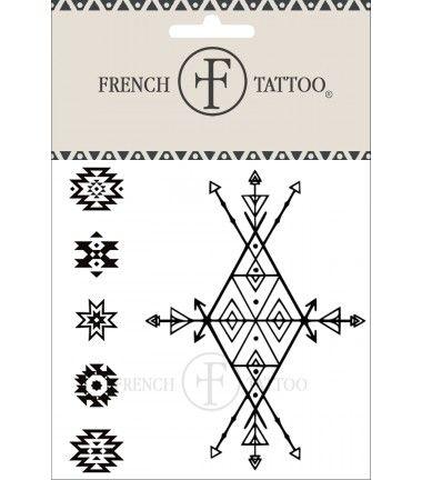 Symbole Indien - Tatouage éphémère