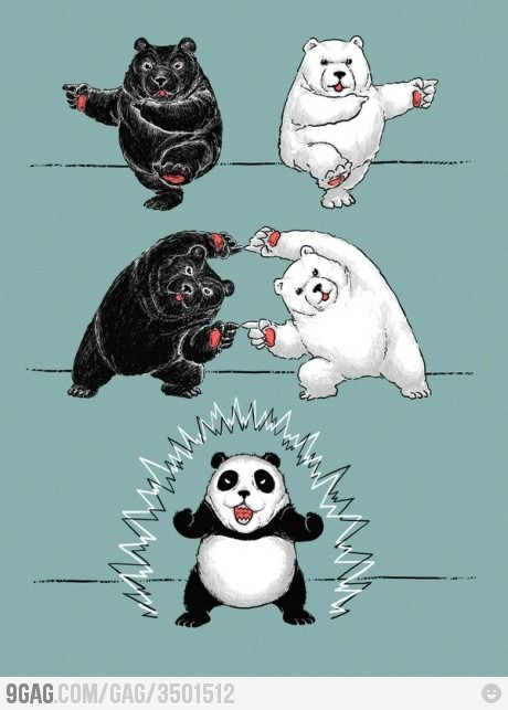 and that's how you make a panda
