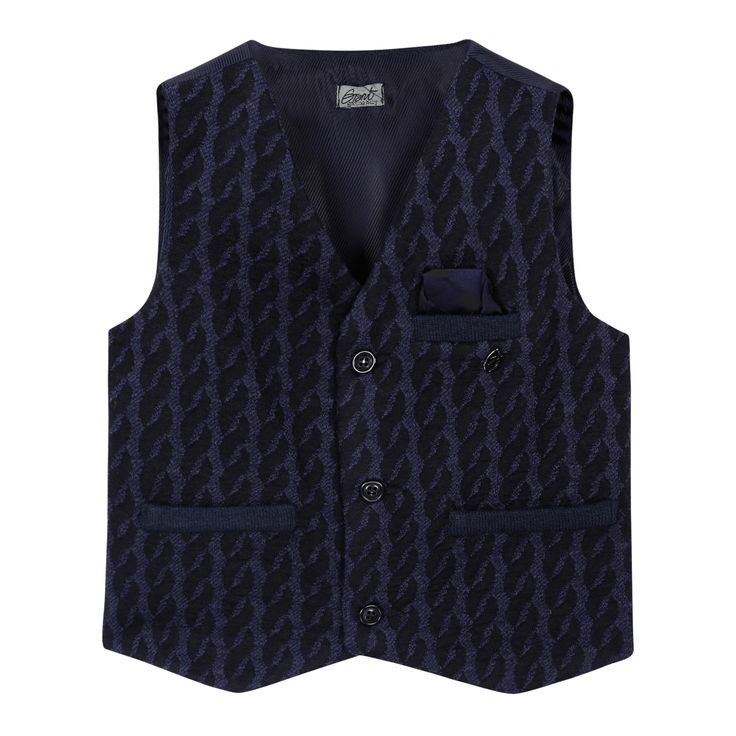 Grant Garçon wool vest for baby boys. Style : C845B128. $45.97 Compared to $139.39.