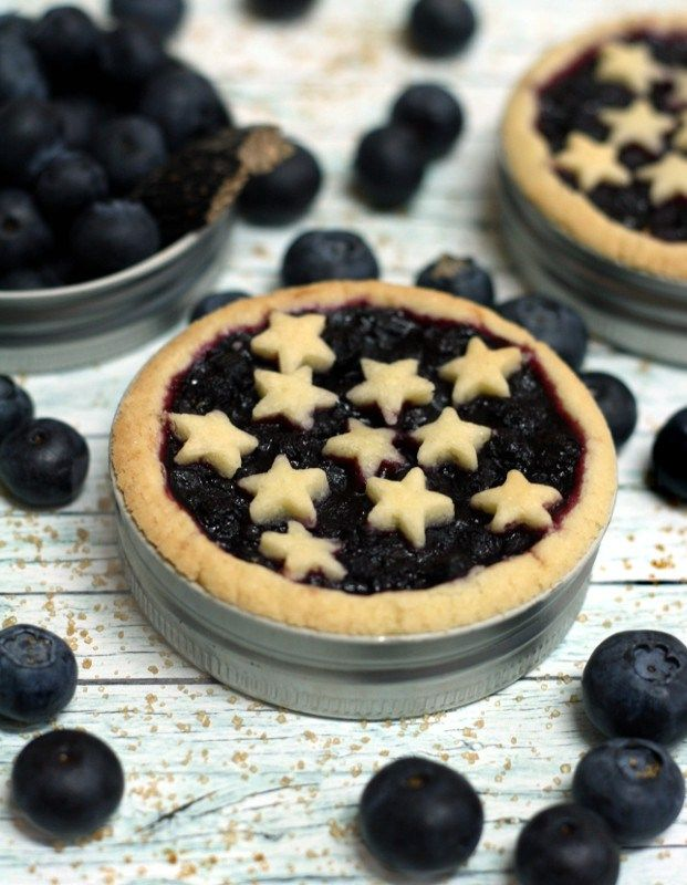 Mason jar lids, Blueberry pies and Jar lids on Pinterest