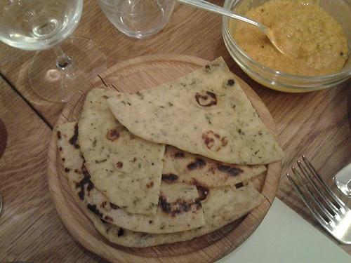 Roti. Ravinder Bhogal aka Cook in Boots cooks up a Punjabi feast at Hix