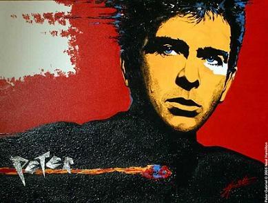 Peter Gabriel: allways twisting music a little more