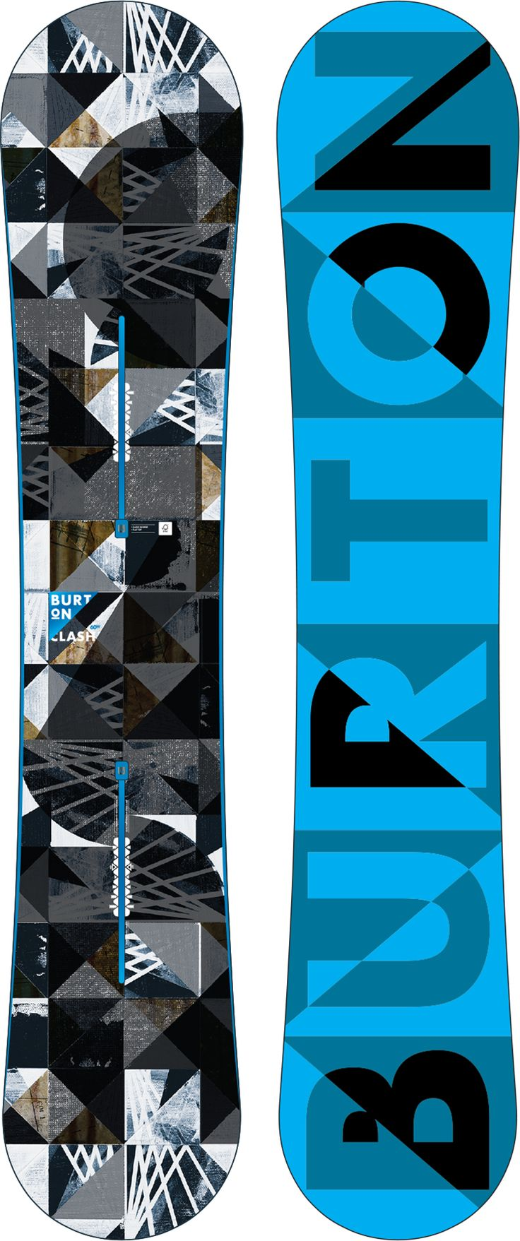 BURTON CLASH BOARD  Blast through the basics and upgrade your abilities with catch-free control and stability that makes easy work of all terrain.