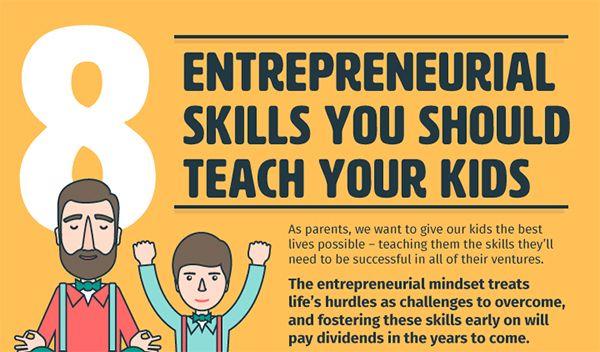 8 Entrepreneurial Skills You Should Teach Your Kids #jodiesTools