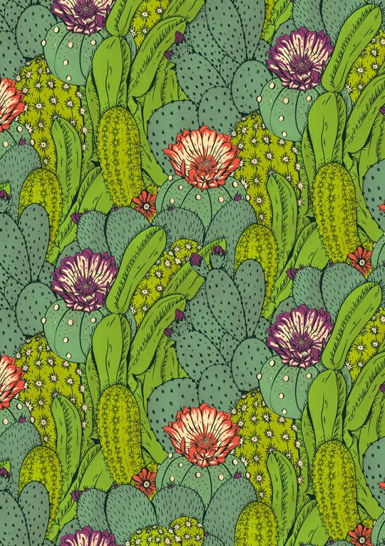 Cactus CityPrints and other products now available on Society 6. By Hannah Holmes