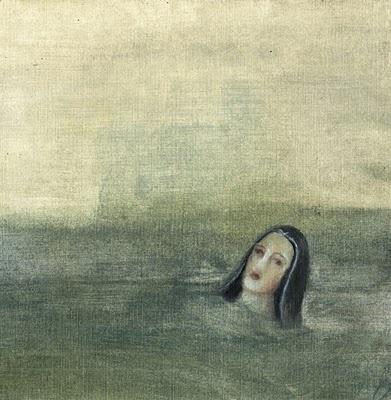 La patrona de Almería no quiso venir en barca