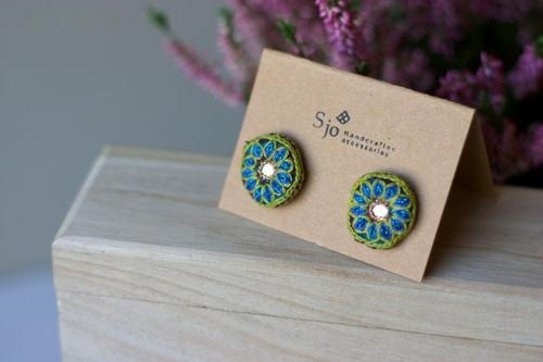 Sweet & simple earrings from S jo handcrafted accessories