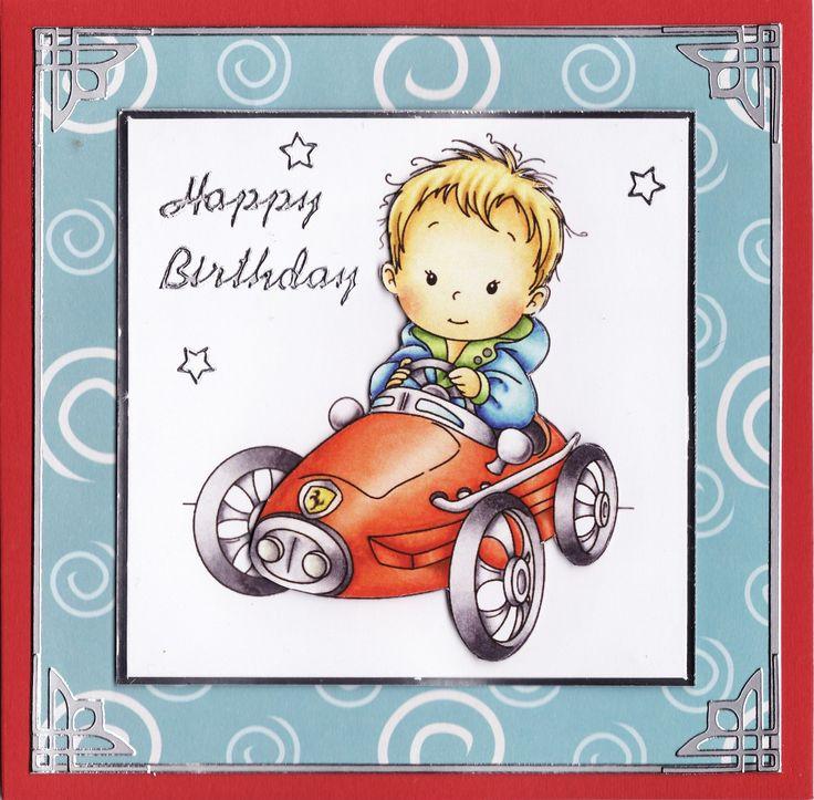 3D 'Happy Birthday' Card