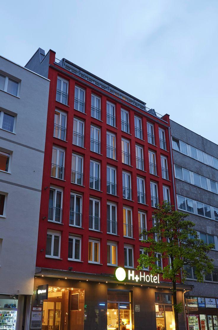 Aussenansicht | H+ Hotel München