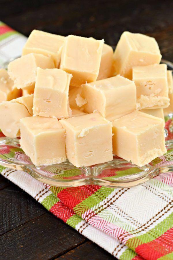 Butter Rum Fudge #candy #homemade #christmas #recipe