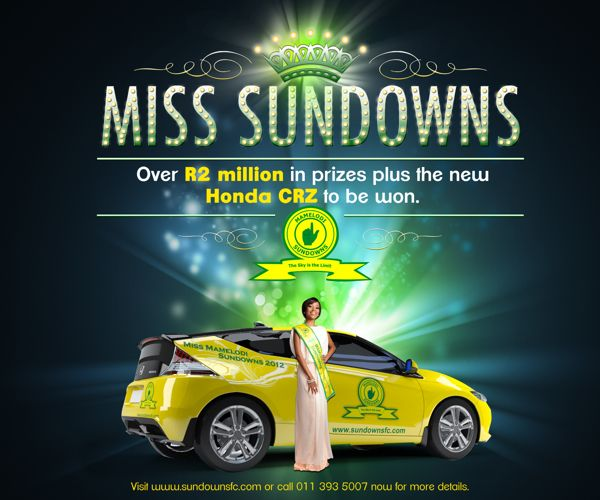 MISS MAMELODI SUNDOWNS POSTER by Mandla Duka, via Behance