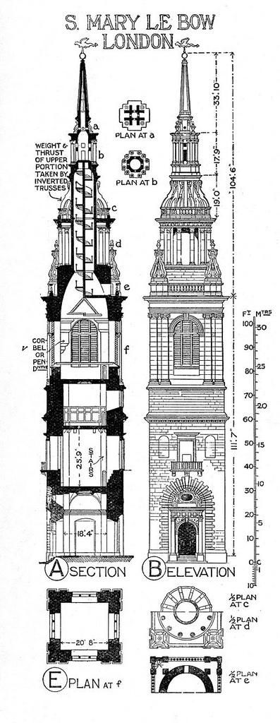 Church Elevation Plan : Best images about plans sections details on