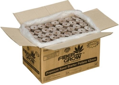 Seed Starting Pots and Trays 159452: Planters Pride Fiber Grow Premium Seed Starter Pellet, 1,000 Count -> BUY IT NOW ONLY: $104.64 on eBay!