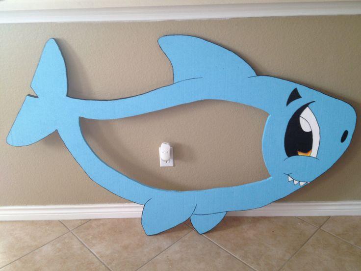Cute shark styrofoam frame $35.00 email me eva.pedraza@gmail.com
