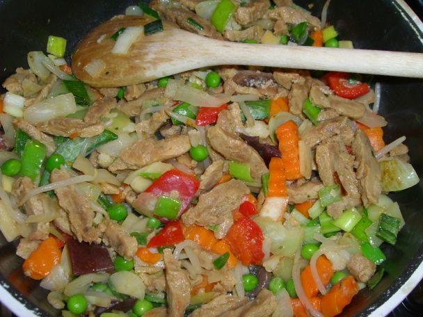 Sójové mäsko na čínsky spôsob (fotorecept) - obrázok 2