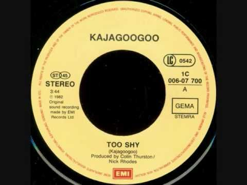 ▶ Kajagoogoo- Too Shy - YouTube