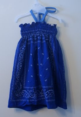 Confessions of a Crafter: Easy shirred bandana dress tutorial