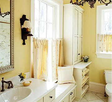 Small Bathroom Yellow 91 best yellow bathrooms images on pinterest | bathroom ideas