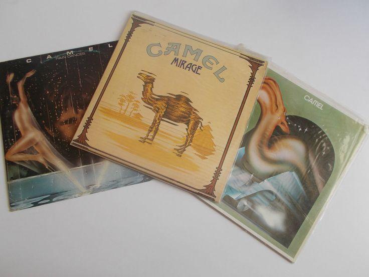 CAMEL (3 VINYL RECORDS)/ RAIN DANCES 1977/ CAMEL 1973 / MIRAGE 1974