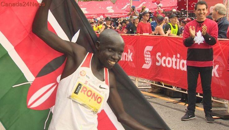 Kenya's Philemon Rono sets new record at Toronto Waterfront Marathon
