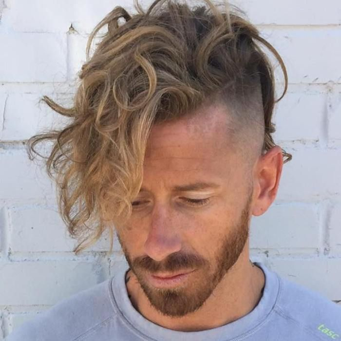 Long Top Shaved Sides Hairstyle Mens Hairstyles Pinterest