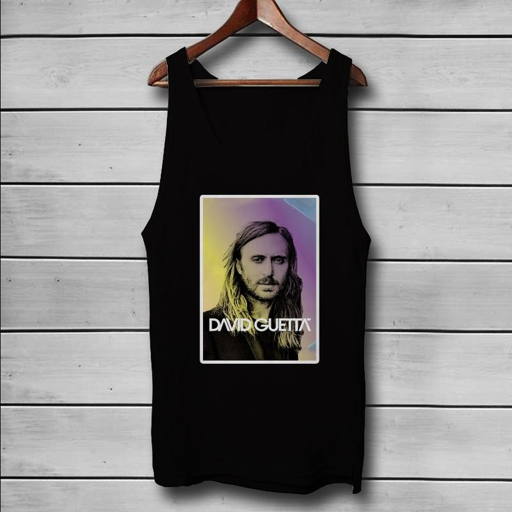 David Guetta DJ Custom Tank Top T-Shirt Men and Woman