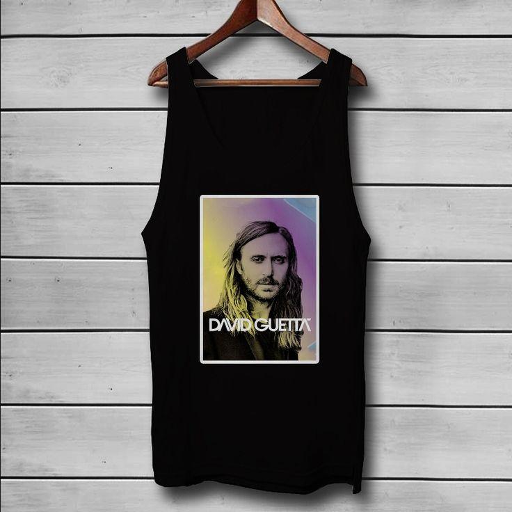 David Guetta DJ Custom Tank Top T-Shirt Men and Woman