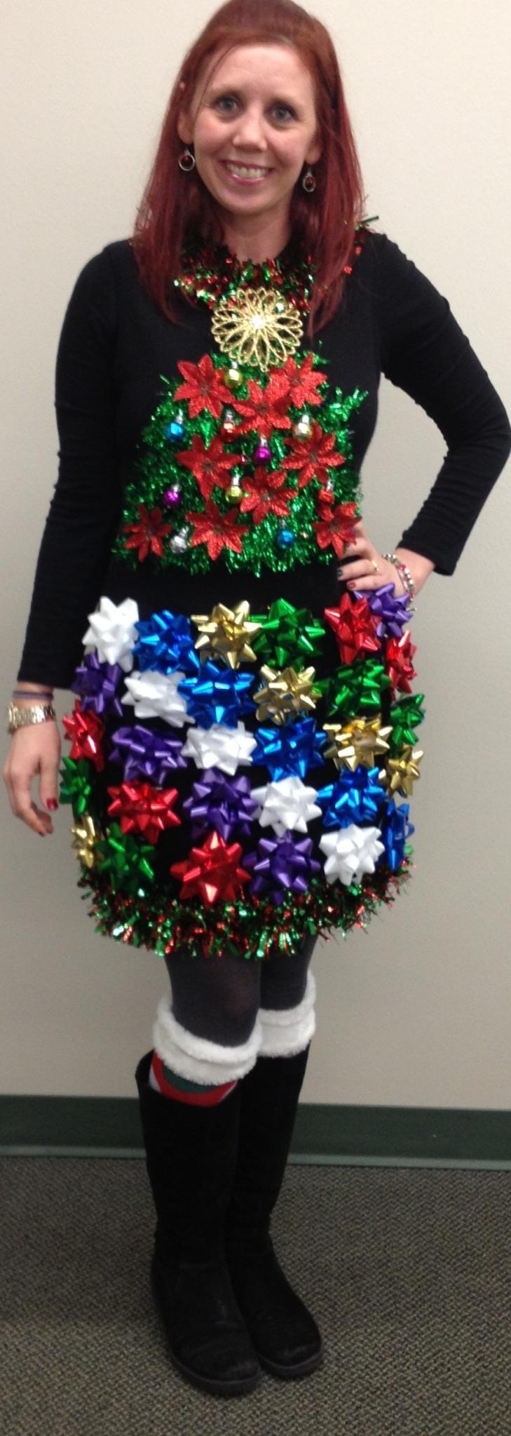 Ugly christmas sweater dress ideas