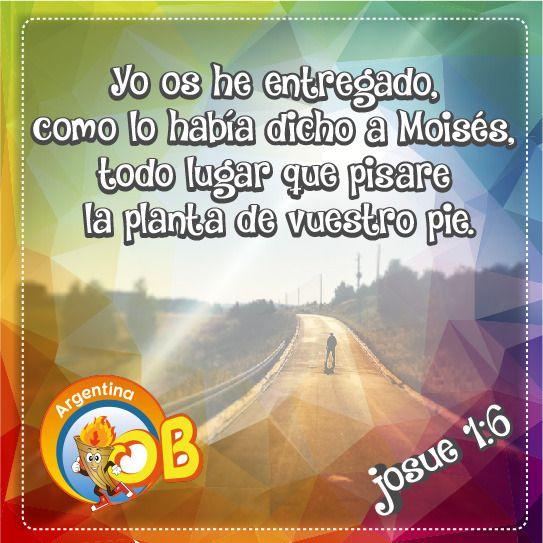 Josue 1.6