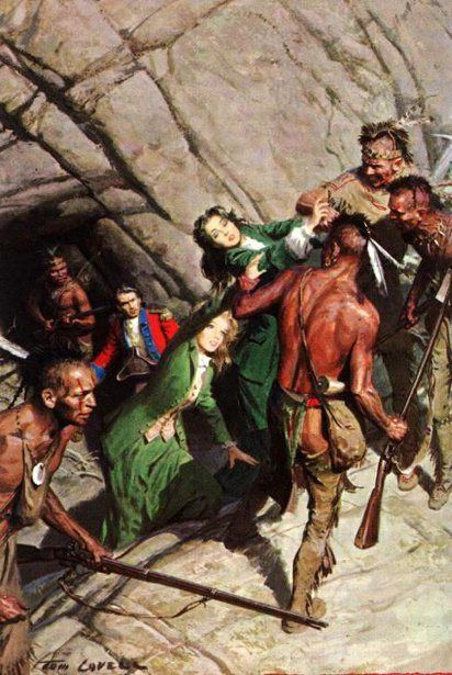 The Last Of The Mohicans by Tom Lovell
